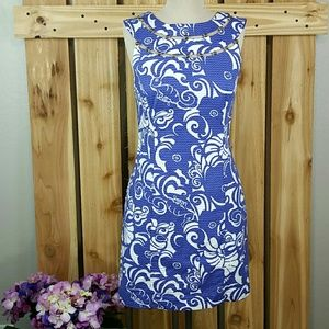 Lily Pulitzer Lindy Beaded Shift Dress
